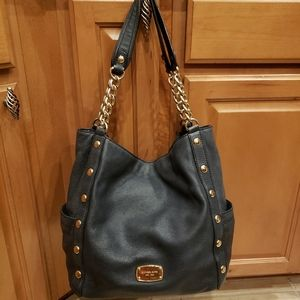 MICHAEL KORS 1981 LEATHER TOTE